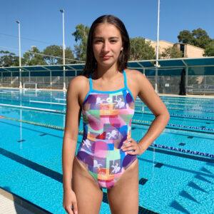 Swimtek Female Californian FRONT