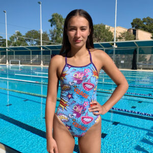 Swimtek Female Girl-Power FRONT