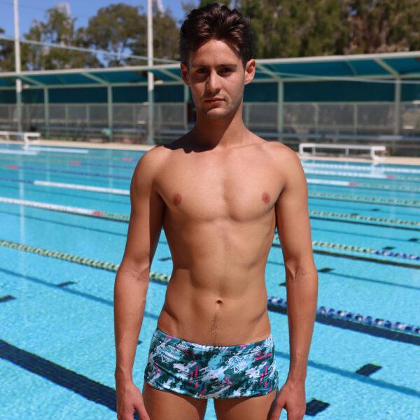 Swimtek Male Swimwear Urban-Camo FRONT