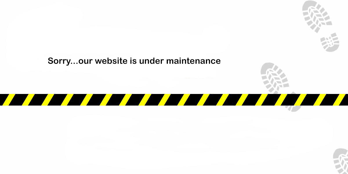 web site under maintainence 1