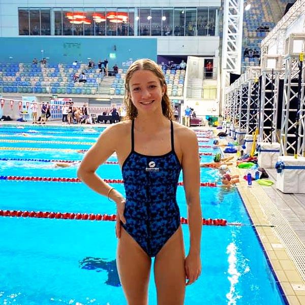 Caitlyn Ribbons Swimtek Ambassadeur