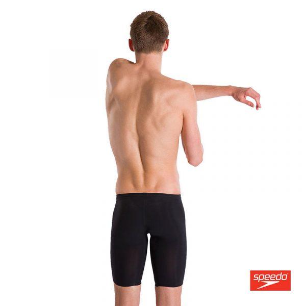 Swimtek Male Swimwear LZR Valor Jammer Black Back