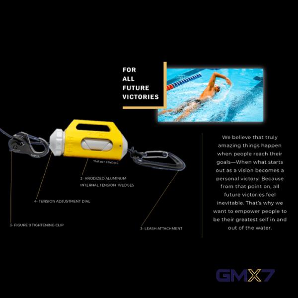 Swimtek Swimming Equipment GMX7 Features